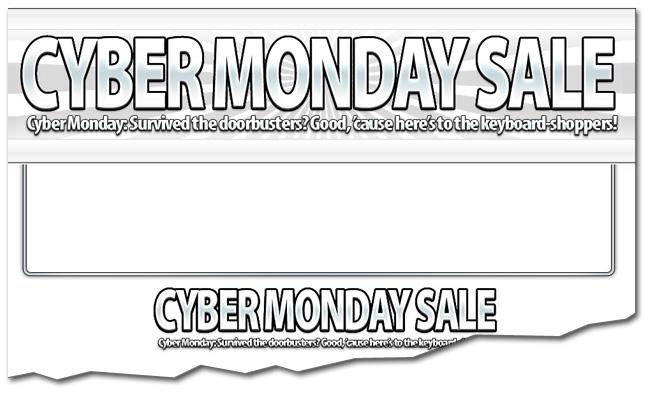 Black Friday Cyber Monday Templates