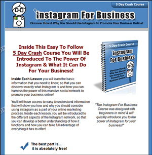 Instagram For Business Comes with Private Label Rights!